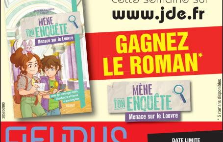 """Gagnez le roman """"Mène ton enquête - Menace sur le Louvre"""""""
