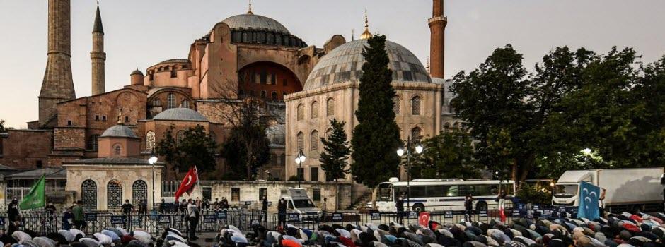 À Istanbul, une église redevient mosquée