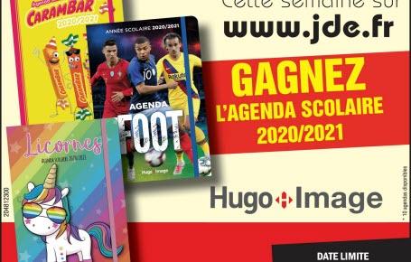 Gagnez l'agenda scolaire 2020-2021 Hugo Image