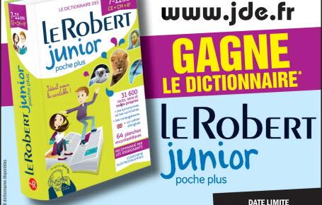 """Gagne le dictionnaire """"Le Robert junior poche plus"""""""