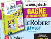 "Gagne le dictionnaire ""Le Robert junior poche plus"""