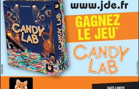 """Gagnez le jeu """"Candy Lab"""""""